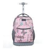Les petites marques de l'école chariot roulant les bagages en cabine sac à dos