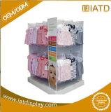Schioccare in su il banco di mostra cosmetico dell'ombrello della melammina della torta di legno del MDF Exhbition per POS/Clothing/Baby'cloth/maglietta/libro