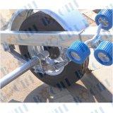 Горячий гальванизированный трейлер шлюпки одиночного Axle нагрузки 400kg складной