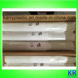Sacs de détritus plats en plastique de HDPE