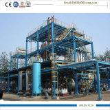 la pianta della raffineria di petrolio 15tpd purifica l'olio residuo