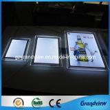 Rétroéclairé par LED lumière ultra mince de bord (boîte cristal léger)