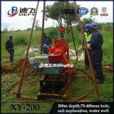 도전 Xy 200 휴대용 이용된 물 드릴링 리그