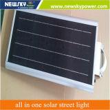 lega di alluminio 8W tutta in un indicatore luminoso di via solare