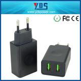 고품질 이중 USB 셀룰라 전화 충전기 휴대용 빠른 충전기