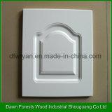 Porta de gabinete da cozinha do núcleo do MDF da membrana do PVC