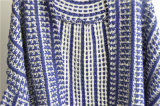100% Acrílico Opean Patterned Ladies Cardigan