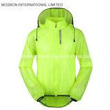 Resguardo de chuva ciclismo fluorescente/Fodable Jacket