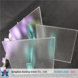 vidro de folha Tempered ultra desobstruído de 3.2mm para a célula solar