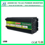 12V/24V/48V 2000W 차 태양 에너지 변환장치 (QW-M2000)