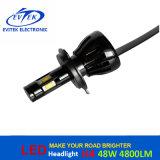 Ampoules imperméables à l'eau de phare de la puce DEL de 48W 4800lm H4 6000k G6 Philips pour le véhicule et la moto