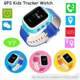 """0.96 """" LCD 디스플레이 (Y7)를 가진 장치를 추적해 아이들 안전한 GPS"""