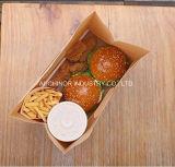 Eco drukte het Goedkope Gerecycleerde Bruine Document Bags&#160 van de Verpakking van brood van Kraftpapier Af;