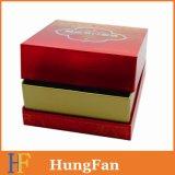 Rectángulo de papel de empaquetado del regalo cosmético