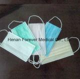 Masque protecteur 3ply chirurgical médical non-tissé de soins de santé de consommation quotidienne
