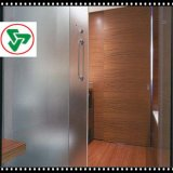 vidro Tempered geado 15mm interno de 12mm
