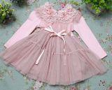 Chemise manches longues Floral ressort Net&robe de princesse de l'automne 1689