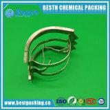 SS304 metallischer Intalox Sattel-Ring für Indurstrial Aufsatz