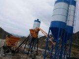 Skip Hoist Béton Batching Mixing Plant Machines de construction pour Highrise
