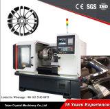 車輪の機械工場の価格の縁修理旋盤の工作機械