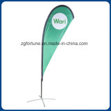 Venda por atacado 5m Outdoor Advertising Beach Flag Banner