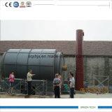 el petróleo usado 10tpd de la máquina recicla la contaminación cero de la planta