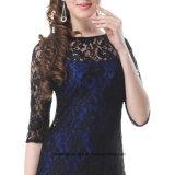 A - ligne robe d'usager élégante sexy de lacet de robes de soirée