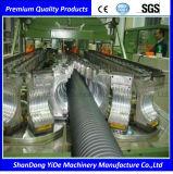 Ligne ondulée d'extrusion de pipe de double mur de PE/PP/PVC