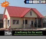 Casa modular prefabricada verde del panel de emparedado