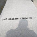 白い磨かれた水晶大理石の床タイル