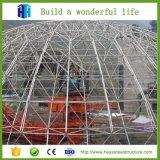 Fabricante prefabricado China del almacén de la estructura de acero del bulto del emparedado de Heya