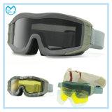 Occhiali di protezione di Eyewear della fucilazione dell'emissione militare con gli obiettivi supplementari