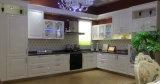 Meubles normaux de cuisine de fini de PVC de cuisine de placage de bois de construction (zc-042)
