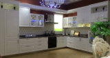 Естественная мебель кухни отделки PVC кухни Veneer тимберса (zc-042)