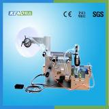 Novo design do rótulo de xampu máquina de rotulação