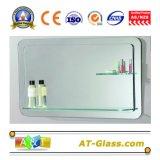 De zilveren Spiegel van het Glas van het Blad van de Spiegel van de Spiegel Zilveren/Verzilverde Spiegel/Zilver Met een laag bedekte Spiegel/de Spiegel van het Aluminium