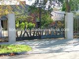 Nizza disegno su ordinazione del cancello del cortile del ferro saldato per la Camera