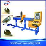Machine de découpage de plasma de commande numérique par ordinateur de portique pour l'acier inoxydable/pipe en acier sans joint