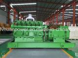 목제 동력 가스 엔진 고정되는 생물 자원 발전기 5MW 평행한 운영
