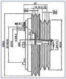 10p30b компрессор для Toyota Coaster