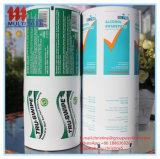 103GSM het Document van de aluminiumfolie voor Alcohol veegt af