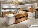 Armadio da cucina di legno dell'Italia dell'hotel dell'isola domestica moderna della mobilia