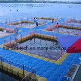 Dique flotante de plástico de HDPE Pontoon cumplen la norma CE
