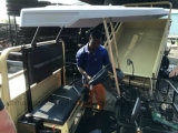 A movimentação de quatro rodas ostenta /Farm/veículo utilitario UTV da mina