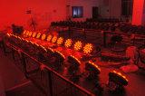 24*12W Rgbaw+UV 6 en 1 LED de alta calidad PAR