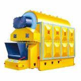Caldaia a vapore dell'acqua calda della griglia della catena del combustibile della biomassa (DZL)