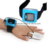 Oxímetro sem fio Cms50fw-Telemedicine do pulso do pulso