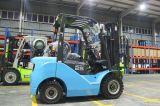Triplexマストが付いている4.5mの高さ1500kg LPのガスエンジンのフォークリフト