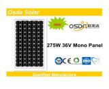 250W TUV CEC MCS CEの承認モノラル結晶太陽電池パネル