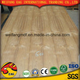 E0/E1/E2 de 2,2 mm a 20mm en madera de teca natural para los muebles de madera contrachapada de lujo